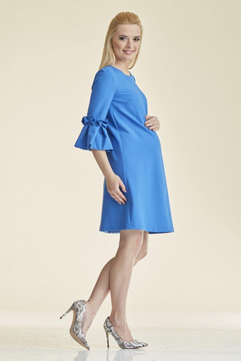 Платье для беременных 08829 синий
