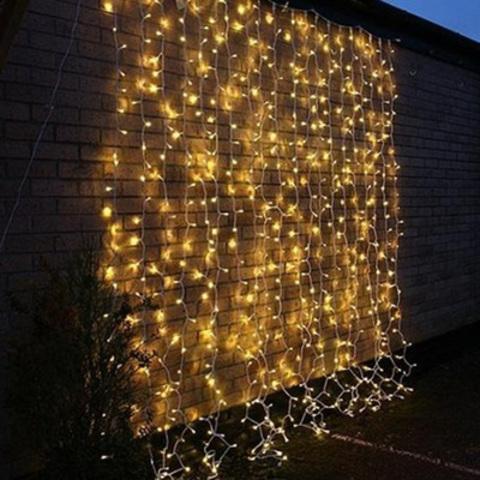 Светодиодная гирлянда штора уличная 1,5 на 3 метра 560 светодиодов LED
