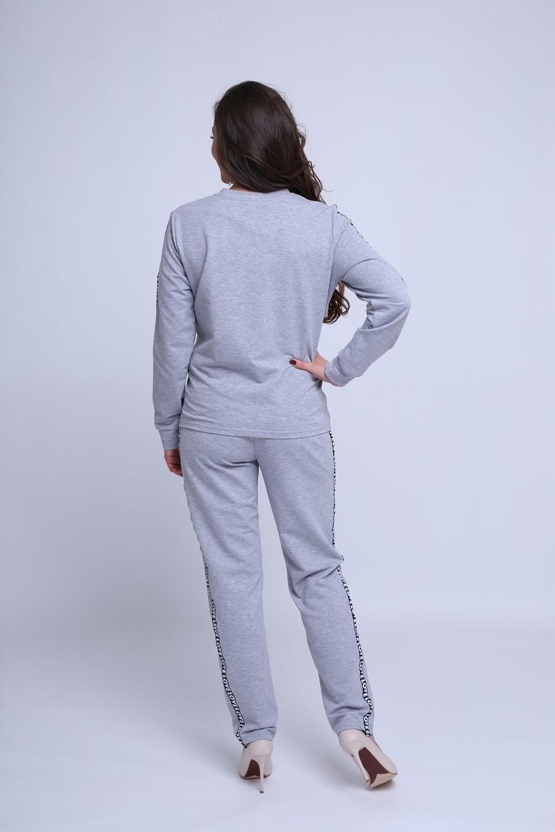 Спортивный костюм для беременных и кормящих 09546 серый