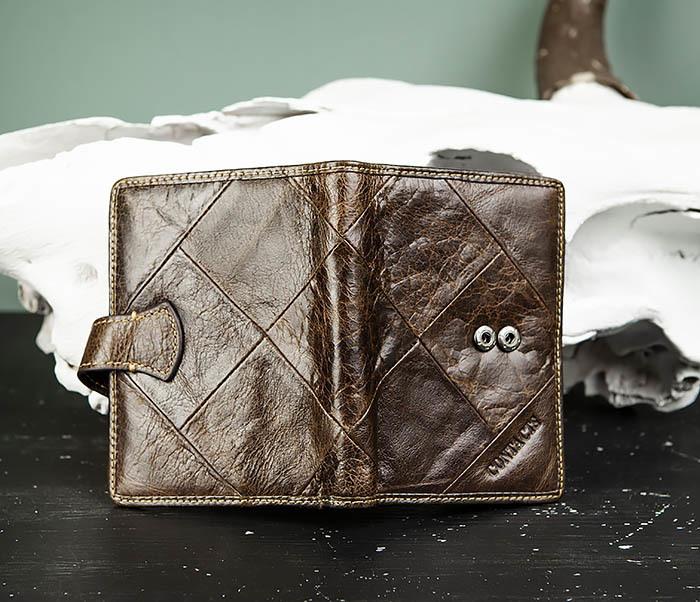 WL287-2 Мужское портмоне из кожи с монетницей фото 04