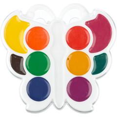 Акварельные краски Луч Кроха Бабочка медовые 10 цветов