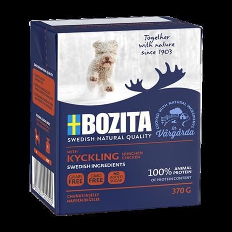 Bozita Naturals Tender Chicken Junior Консервы для щенков с курицей (кусочки в желе)