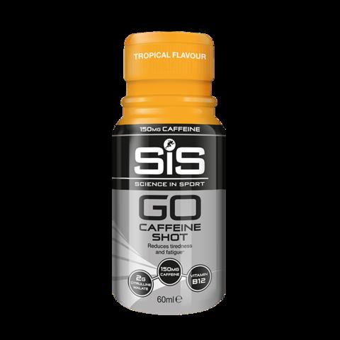 SIS GO Caffeine Shot кофеин шот, Тропик, 60 мл