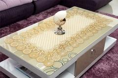 Салфетка декоративная 60 х 100 см золото № 2