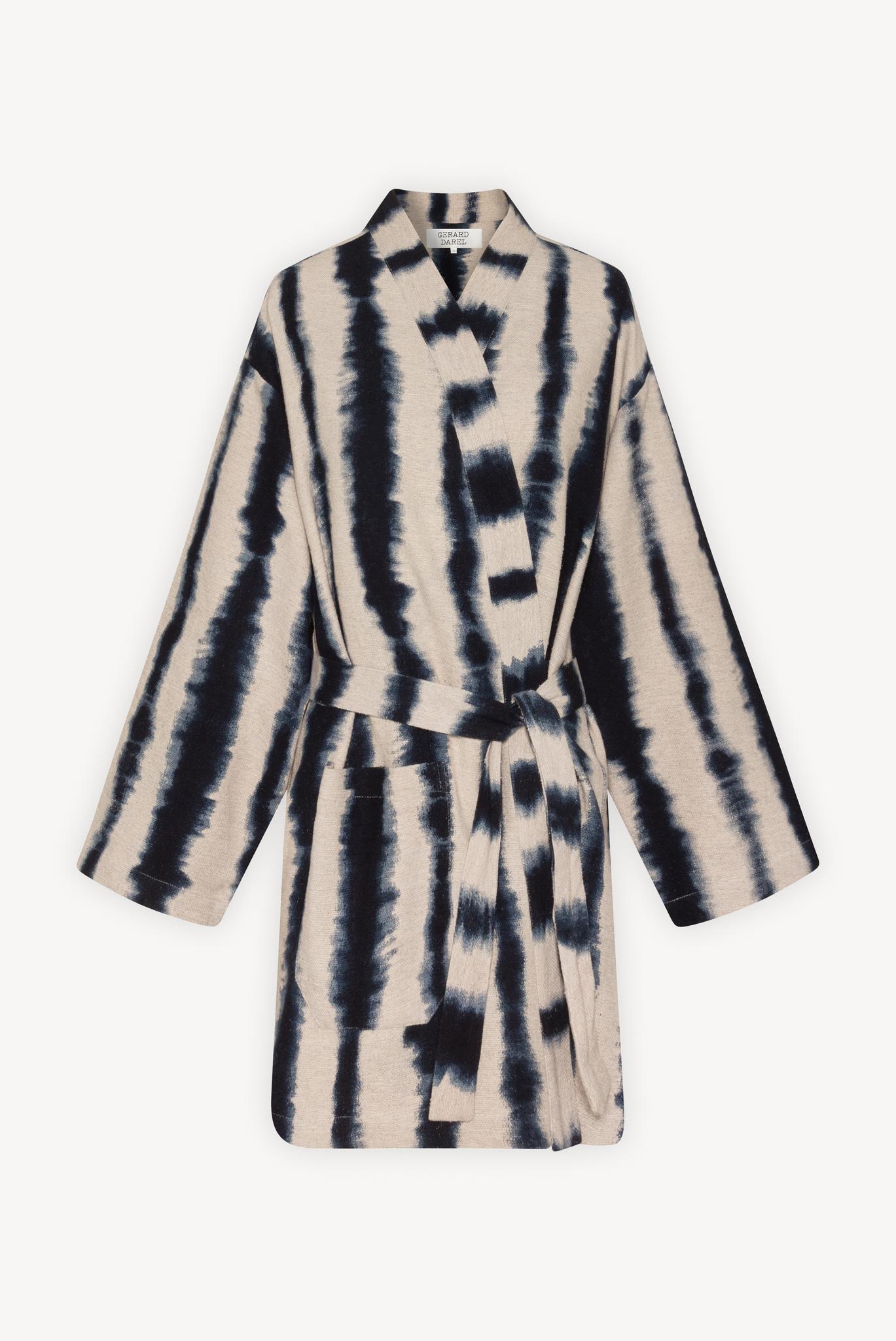 ALYA - Шелковый жакет в стиле кимоно