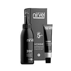 NIRVEL g-3 (dark grey) - краситель для волос мужской тёмно-серый 30+30