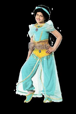 Карнавальный костюм детский Жасмин (парча)