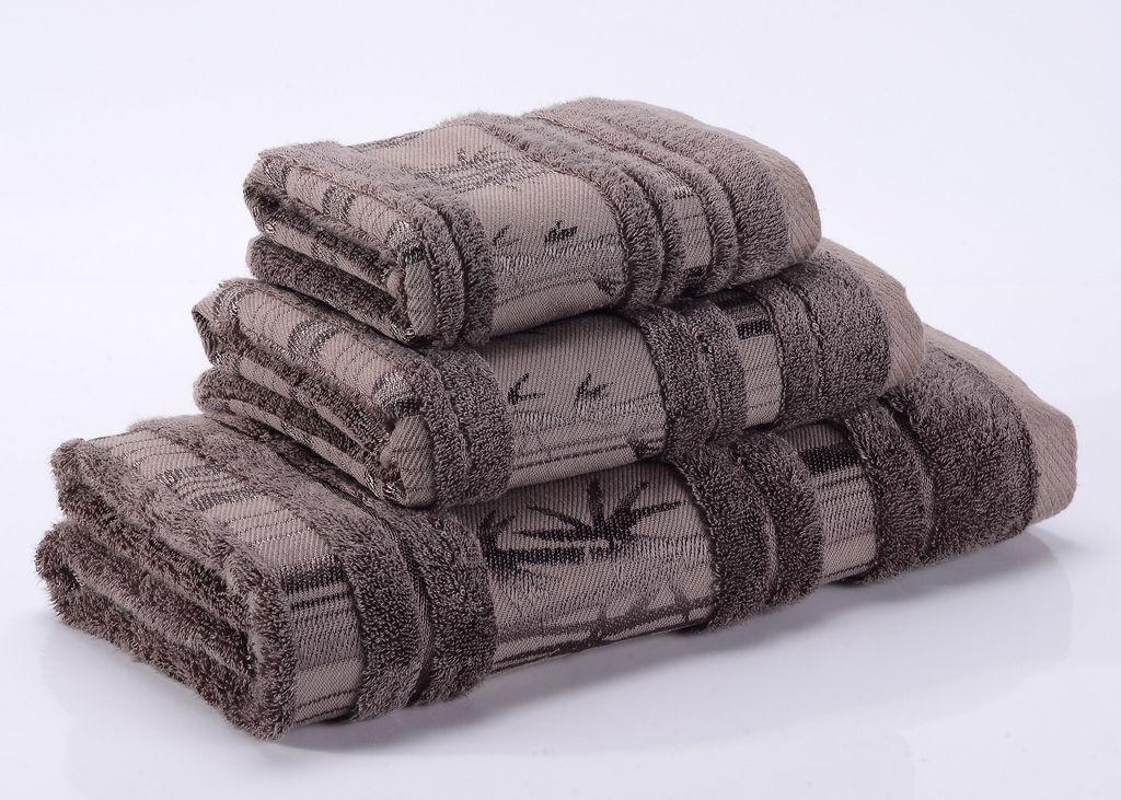 Полотенца Bamboo CL-3  коричневое бамбуковое махровое  полотенце Valtery 19696_bamboo-cl-3-polotentse-bannoe.jpg