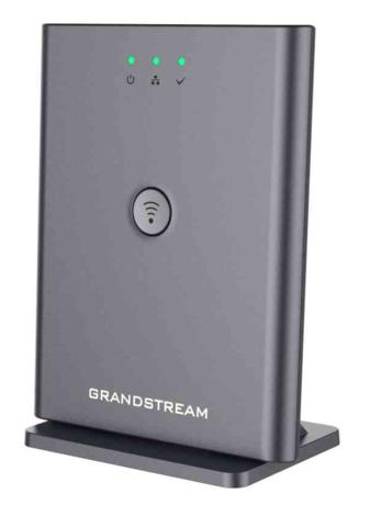 Grandstream DP752 - IP DECT базовая станция. 10 SIP аккаунтов, 10 линий, до 5 трубок/5 одновременных вызовов, поддержка Push-to-Talk, крепление на потолок