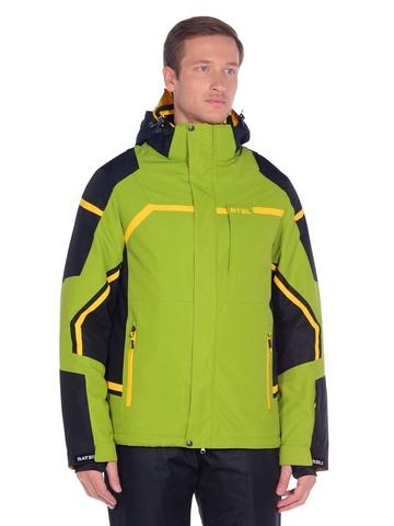 Горнолыжная мужская куртка BATEBEILE зеленого цвета.