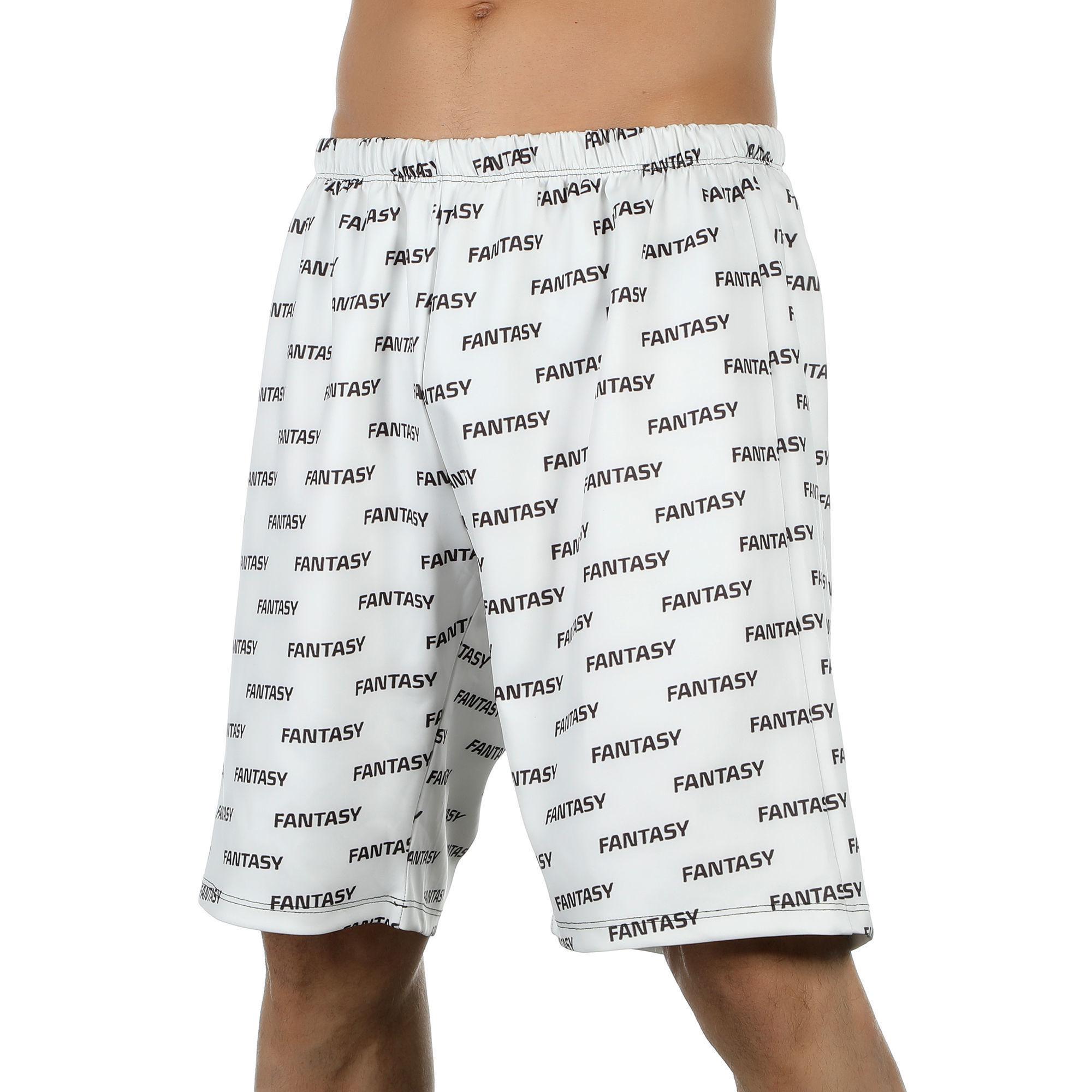Мужские шорты удлиненные белые Van Baam FANTASY VB-39262