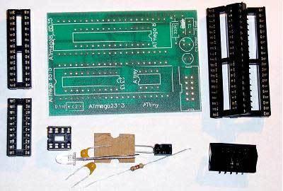 Набор для сборки платы-переходника для USB AVR-910 программатора