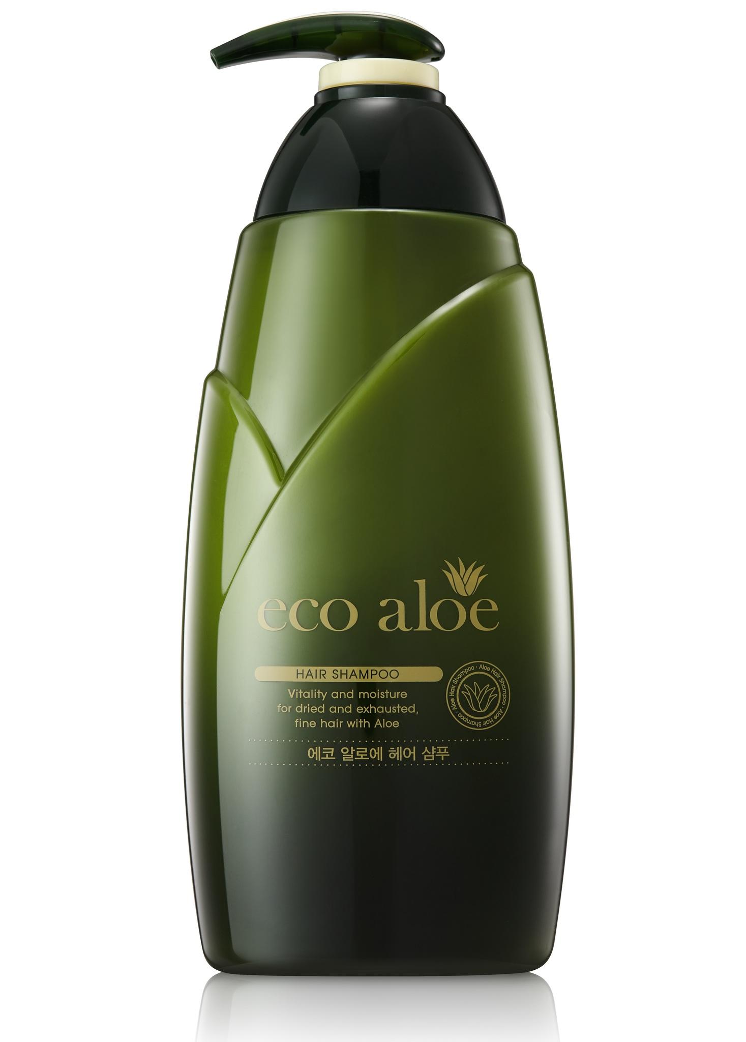 Шампунь для волос с алоэ вера Rosee Eco Aloe