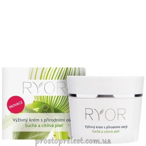 Ryor Cream With Almond Butter - Живильний крем з мигдальною лією