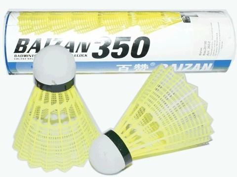 Волан пластиковый c синтетической головкой. В тубе 6 шт: 350-2