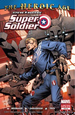 Steve Rogers: Super Soldier #3 (of 4)