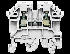 RK 2,5 WH винтовая проходная клемма белого цвета