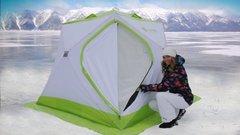 Палатка для зимней рыбалки ЛОТОС Куб Классик С9Т двухслойная