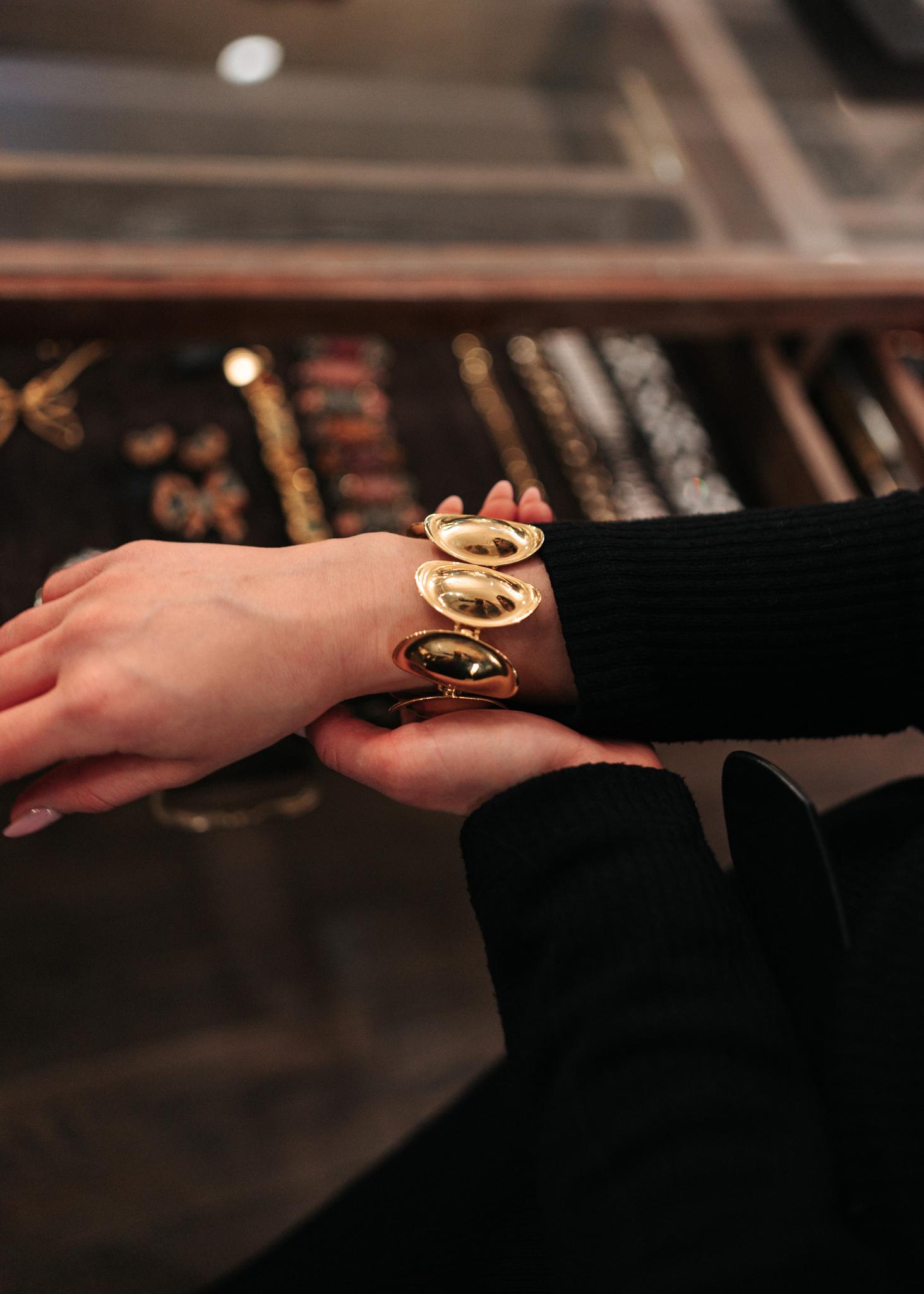 Стильный винтажный браслет Liz Claiborne