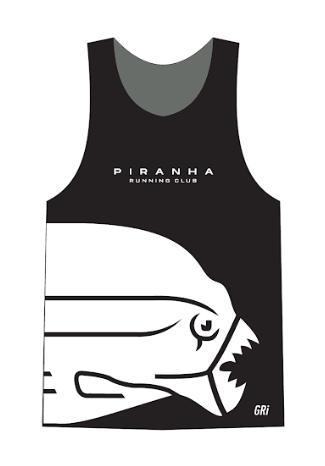 Майка клубная GRI Piranha, женская