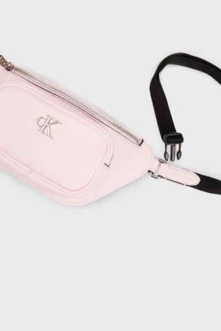 Женская розовая поясная сумка CONVERTIBLE WAIST BAG Calvin Klein