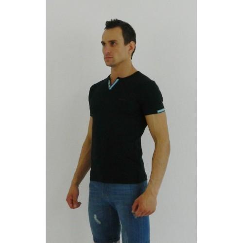 Мужская футболка поло темно-синяя Paul Smith