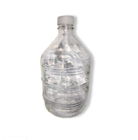Бутыль из прозрачного стекла на 10 литров с винтовой крышкой крышкой в комплекте