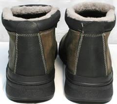 Качественные мужские зимние ботинки Rifellini Rovigo 046 Brown Black