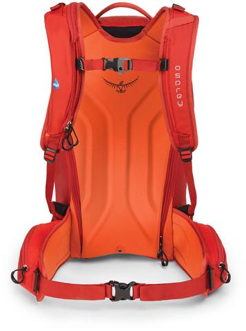 Картинка рюкзак горнолыжный Osprey Kamber 32 Ripcord Red - 4