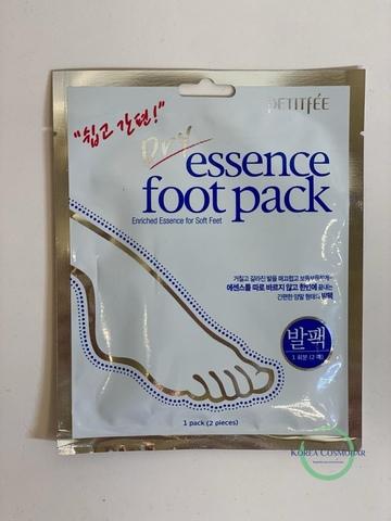 Petitfee Маска для ног питательная - Dry essence foot pack, 40г(1пара)