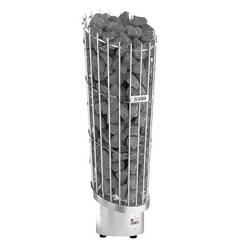 Электрическая печь SAWO PHOENIX PNX3-90NI2-P (9 кВт, нержавейка, выносной пульт, напольная, встроенный блок мощности)