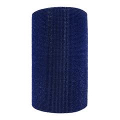 Коврик-дорожка ТРАВКА, синий, на противоскользящей  основе, 0,90*15 м