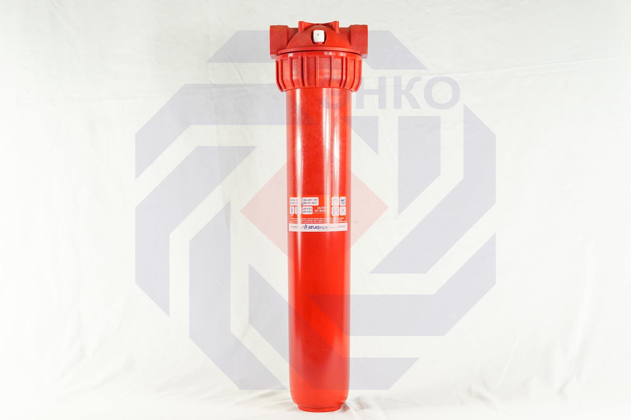Корпус фильтра для горячей воды одинарный ATLAS MASTER PLUS HOT 3P BFP SX AB 1