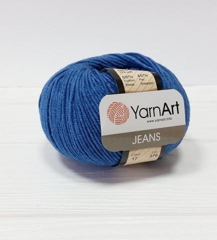 Пряжа YarnArt JEANS - (17- синий)