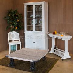 Стол журнальный Secret De Maison RIVIERA ( mod.1996WW) — античный белый