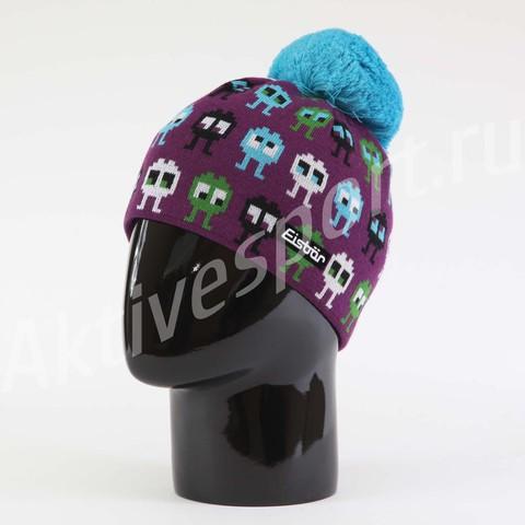 Картинка шапка Eisbar rusty pompon kids 097 - 1