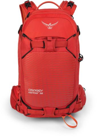 Картинка рюкзак горнолыжный Osprey Kamber 32 Ripcord Red - 3