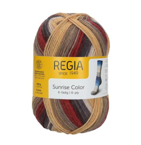 Regia Sunrise Color 6-ply 6230