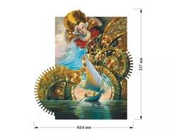 Часовщик  от DAVICI - Деревянный пазл с движущимся механизмом, картина, которую вы собираете сами