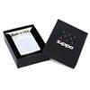 Зажигалка Zippo Serenity с покрытием Satin Chrome™, латунь/сталь, серебристая, матовая