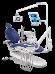 A-DEC 300 - стоматологическая установка с нижней подачей инструментов