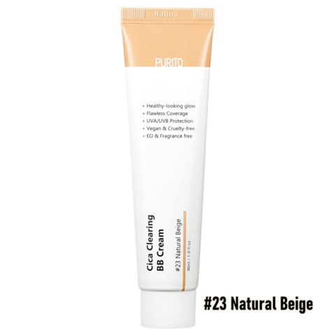 BB-крем c экстрактом центеллы 23 тон Purito Cica Clearing BB cream