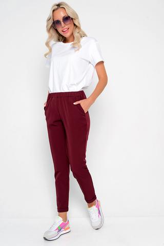 """<p><span>Очень удобные брюки """"Саббиани"""" на резинке - стильный предмет гардероба, который может использоваться в повседневном, спортивном, вечернем стилях. Преимущества, которые дают брюки на резинке, позволяют создавать неординарные образы на любой вкус. (Длины: 44-91см; 46-92см; 48-93см; 50-94см; 52-95см)</span></p>"""