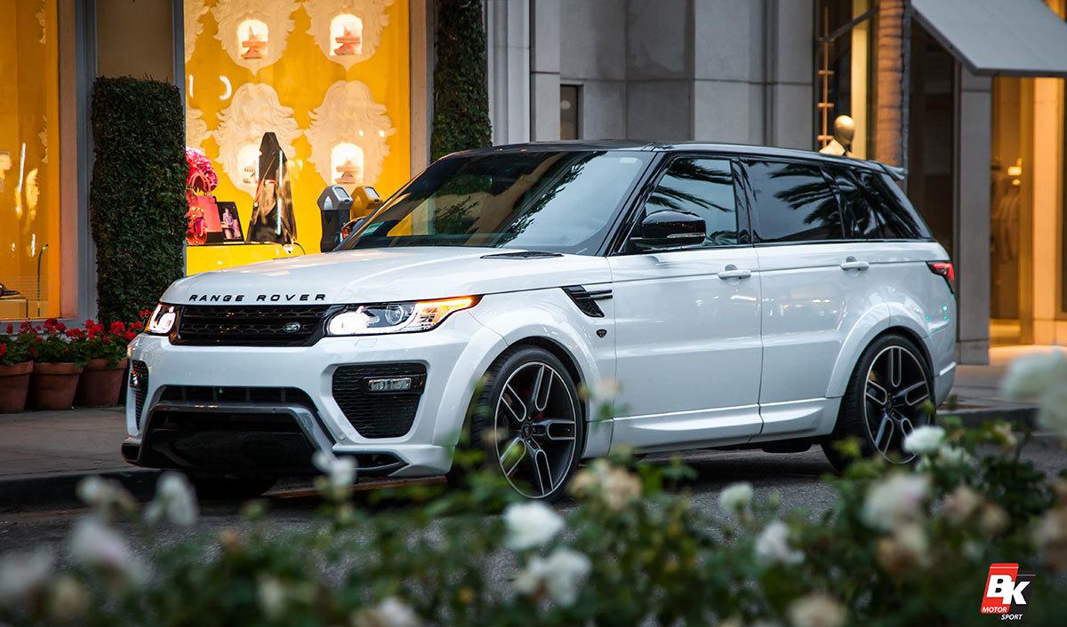 Обвес Caractere Exclusive на Range Rover Sport