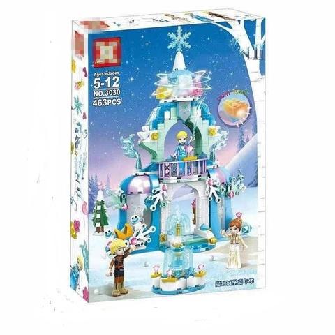 Конструктор Холодное Сердце 3030 Ледяной замок Эльзы 463 дет.