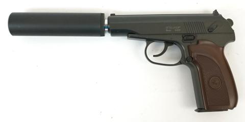 Страйкбольный пистолет Stalker SAPS Spring (ПМ с глушитилем)