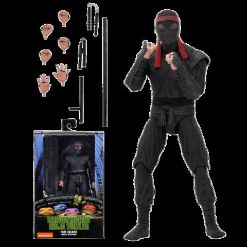 Фигурка NECA Teenage Mutant Ninja Turtles - Foot Soldier (melee weaponry)