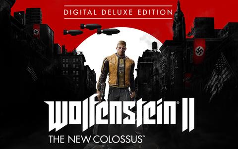 Wolfenstein II: The New Colossus Deluxe Edition (для ПК, цифровой ключ)