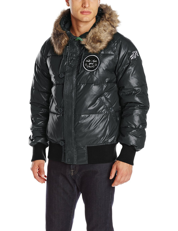 Куртка Мужская Alpha N-2B Sonic Parka (черная - black)