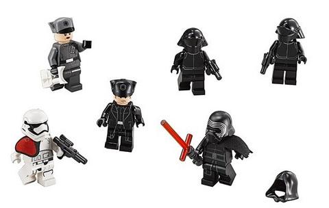 LEGO Star Wars: Командный шаттл Кайло Рена 75104 — Kylo Ren's Command Shuttle — Лего Стар варз ворз Звёздные войны